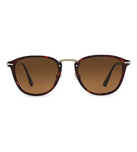 PERSOL Po3165s square-frame sunglasses (Brown
