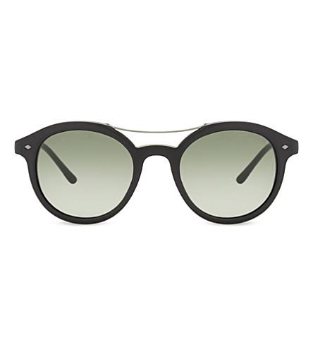 GIORGIO ARMANI AR8007 Frames of Life round-frame sunglasses (Black