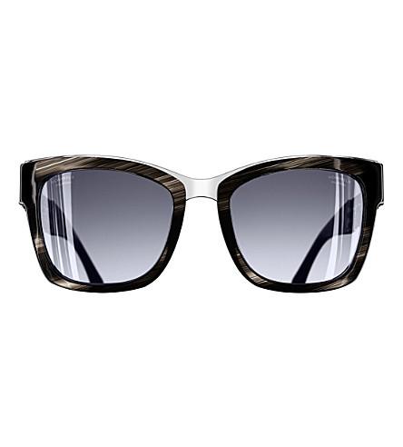 CHANEL Square sunglasses (Black
