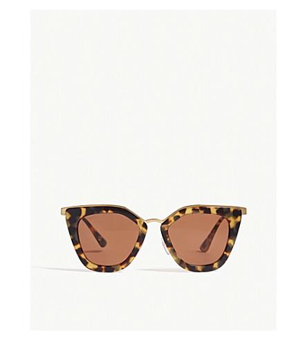 e6674fcf066e PRADA PR53S cat-eye-frame sunglasses (Brown