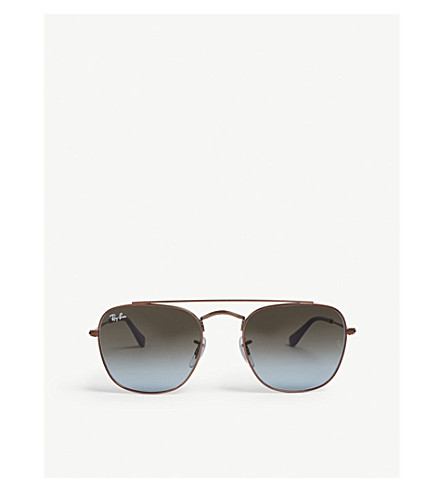 RAY BAN RB3557 square-frame sunglasses