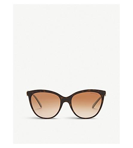 TIFFANY & CO Tf4131 cat-eye sunglasses (Havana