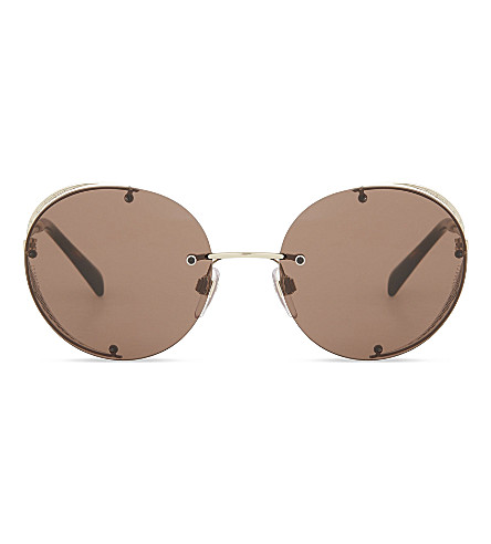 VALENTINO VA2003 round sunglasses (Light+gold
