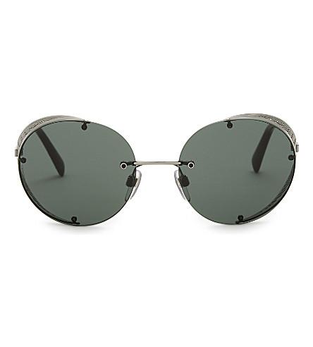 VALENTINO Va2003 round-frame sunglasses (Gunmetal