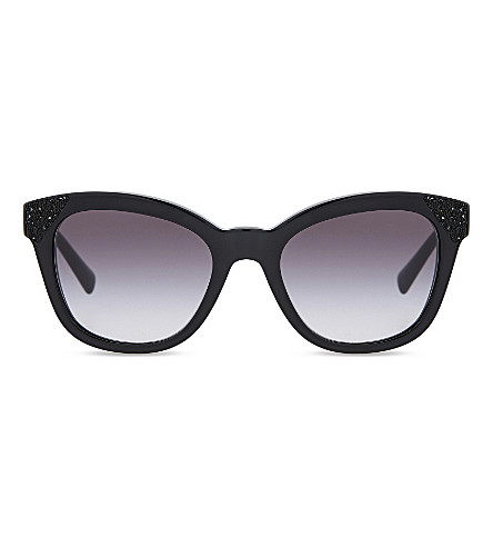 VALENTINO Va4005 cat-eye sunglasses (Black