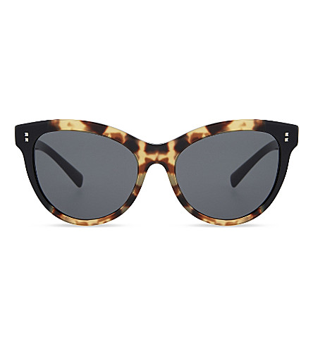 VALENTINO Va4013 cat-eye sunglasses (Black