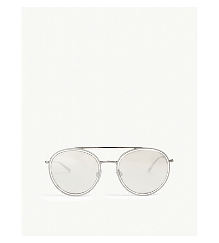 GIORGIO ARMANI Crystal Ar6051 round sunglasses (Crystal