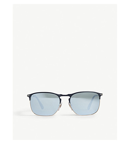 PERSOL PO7359s pilot-frame sunglasses (Blue