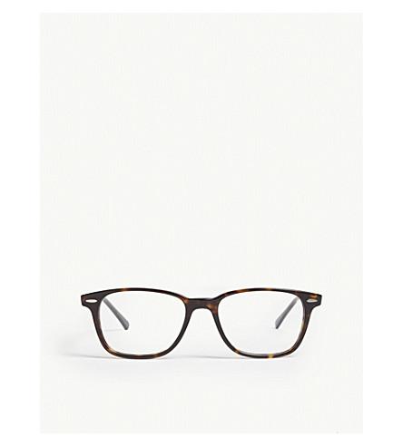 5eee34f849 RAY-BAN - Havana Rx7119 rectangle-frame optical glasses