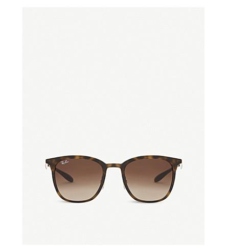 RAY-BAN Rb4278 tortoiseshell sunglasses (Matte+havana