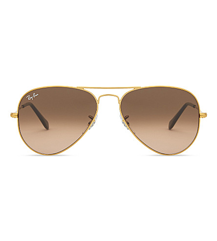 RAY-BAN Rb3025 aviator sunglasses (Light+bronze
