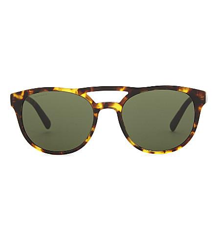 PRADA Pr13ts square-frame sunglasses (Havana