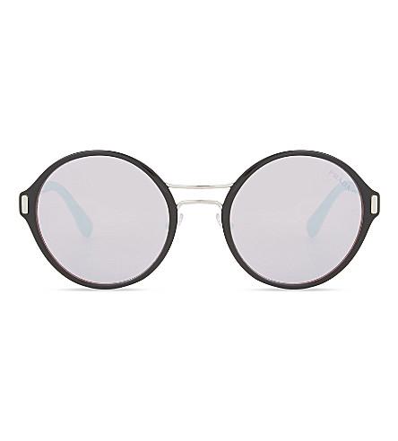 PRADA Pr57ts round-frame sunglasses (Silver
