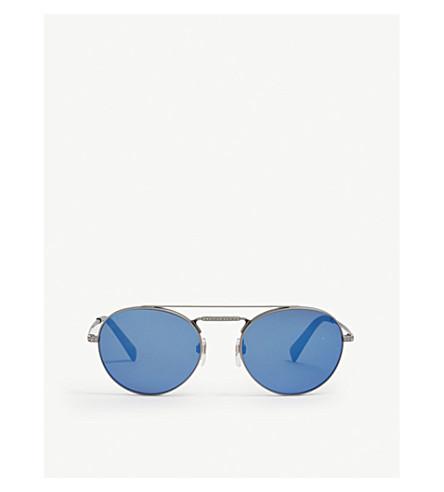 VALENTINO Va2004b round-frame sunglasses (Matte+gunmetal