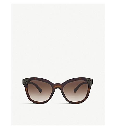 VALENTINO Va4005 Havana cat-eye sunglasses (Havana
