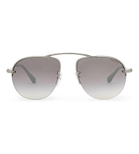 PRADA Pr580s aviator sunglasses (Gunmetal