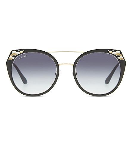BVLGARI BV6095 cat-eye-frame sunglasses (Black