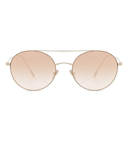 GIORGIO ARMANI AR6050 aviator sunglasses (Bronze