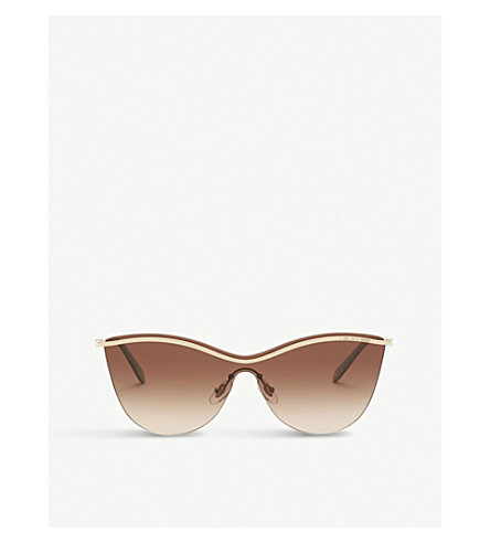 TIFFANY & CO Tf3058 butterfly-frame sunglasses (Gold