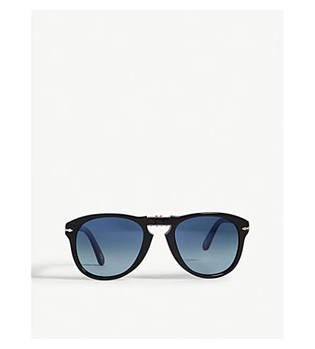 PERSOL PO0714SM pilot sunglasses (Black