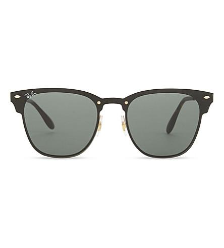 BURBERRY Blaze Clubmaster square-frame sunglasses (Gold