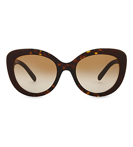 BURBERRY BE4253 havana cat-eye sunglasses (Bordeaux+on+havana