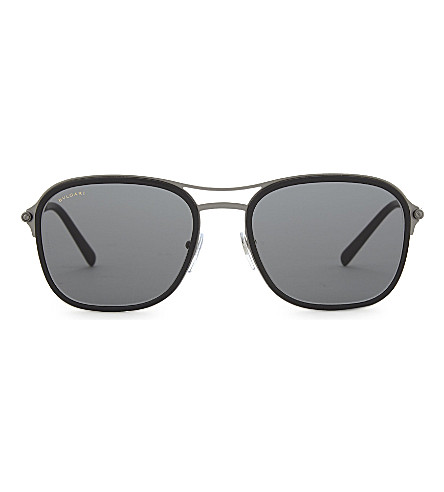 BVLGARI Bv5041 square-frame sunglasses (Black