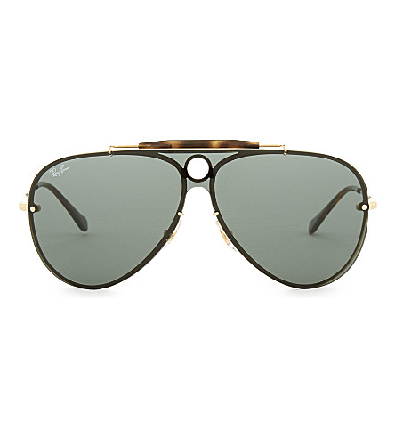 RAY-BAN Rb3581 Aviator sunglasses (Gold