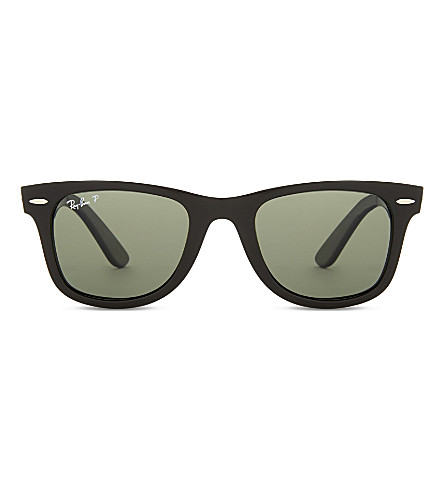 RAY-BAN Rb4340 Wayfarer square-lens sunglasses (Black