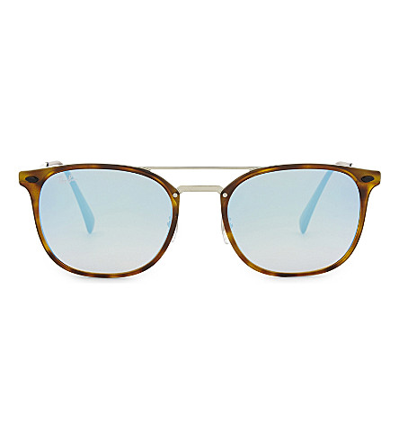 RAY-BAN Rb4286 square-frame sunglasses (Havana