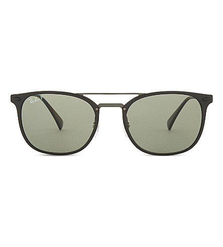 RAY-BAN Rb4286 square-frame sunglasses (Black