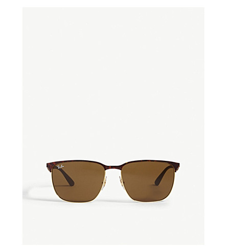 RAY-BAN Rb3569 square-frame sunglasses
