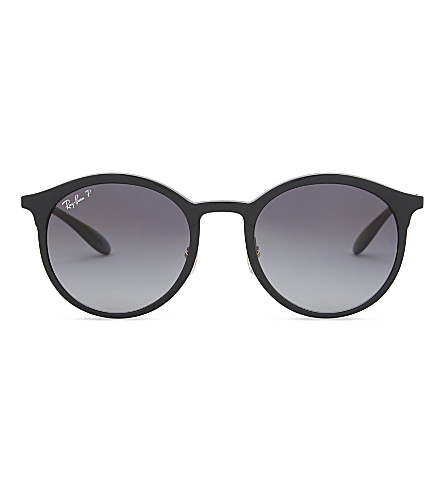 RAY-BAN Rb4277 round-frame sunglasses (Black
