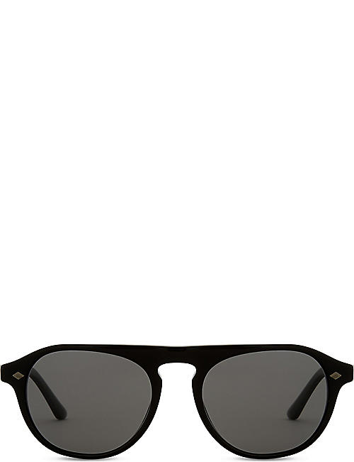 GIORGIO ARMANI - Round - Sunglasses - Accessories - Womens ...