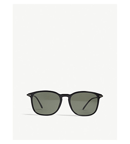 GIORGIO ARMANI Ar8098 square-frame sunglasses (Black