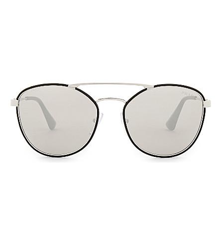PRADA 0Pr 63Ts square sunglasses (Black
