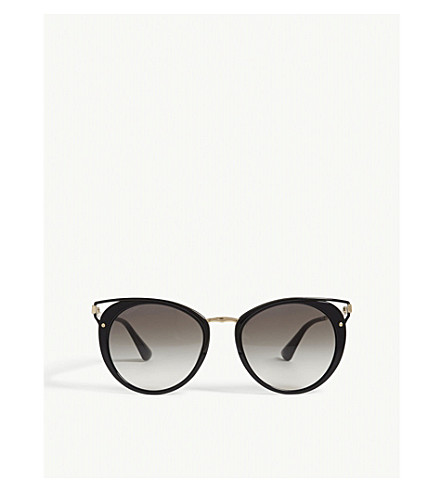 PRADA Pr66ts Phantos cat-eye sunglasses (Black