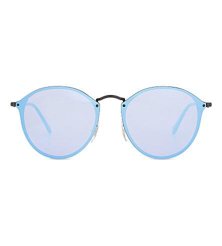 RAY-BAN RB3574 phantos sunglasses (Black
