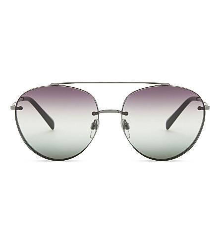 VALENTINO Va2009 aviator sunglasses (Gunmetal