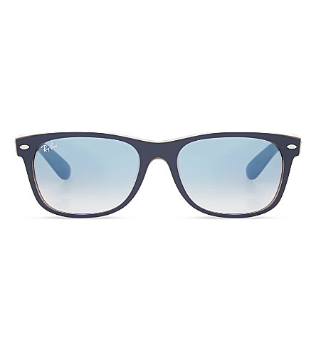 RAY-BAN RB2132 New wayfarer sunglasses (Matte+blue
