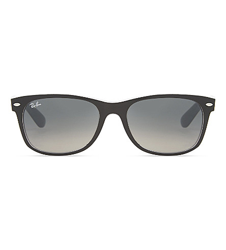 RAY-BAN RB2132 New wayfarer sunglasses (Matte+black
