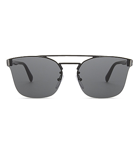 PRADA Pr67t square-frame sunglasses (Black