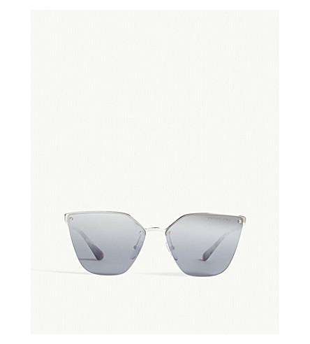 PRADA Cinema cat-eye frame sunglasses (Silver