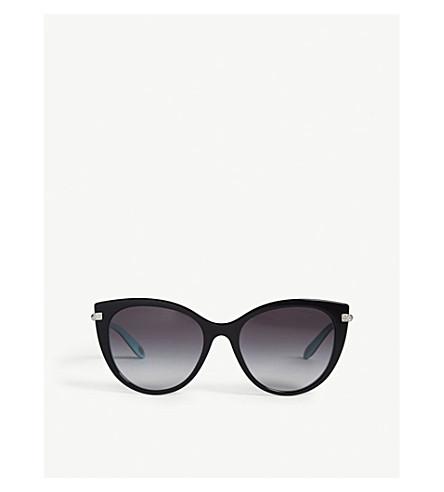 TIFFANY & CO Tf4143b cat eye sunglasses (Black