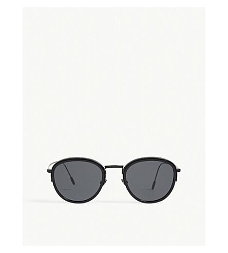 EMPORIO ARMANI Ar6068 round-frame sunglasses (Black