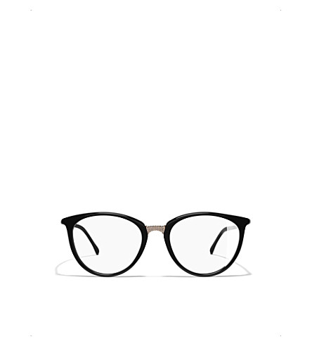 CHANEL Cat-eye glasses (Black