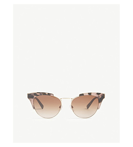 VALENTINO Va4026 cat eye sunglasses (Gold