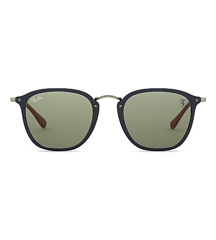 RAY-BAN Rb2448 square-frame sunglasses (Blue