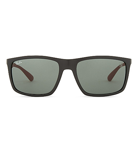 RAY-BAN Rb4228 square-frame sunglasses (Black