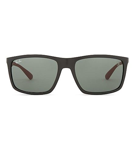 RAY-BAN Rb4228 square-frame sunglasses (Black
